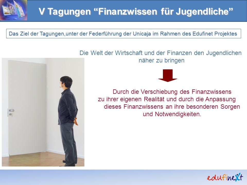 V Tagungen Finanzwissen für Jugendliche