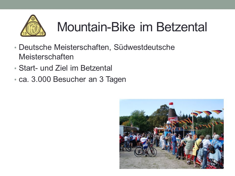 Mountain-Bike im Betzental