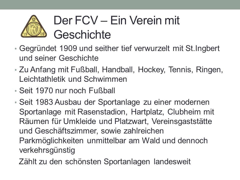 Der FCV – Ein Verein mit Geschichte