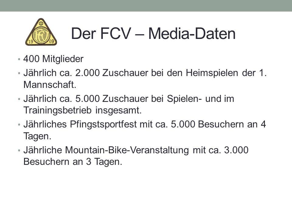 Der FCV – Media-Daten 400 Mitglieder