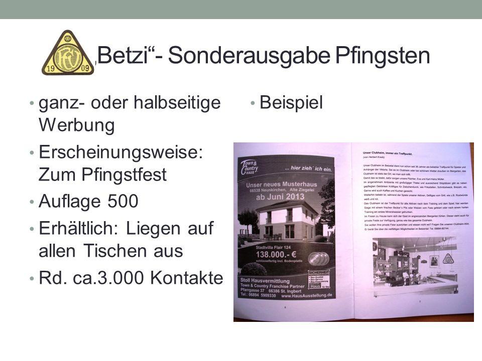 """Betzi - Sonderausgabe Pfingsten"