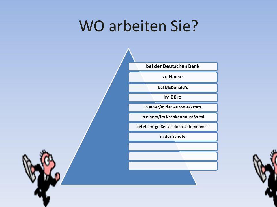 WO arbeiten Sie bei der Deutschen Bank zu Hause im Büro