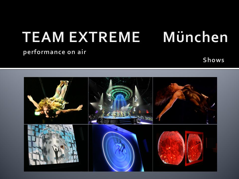 TEAM EXTREME München performance on air Shows