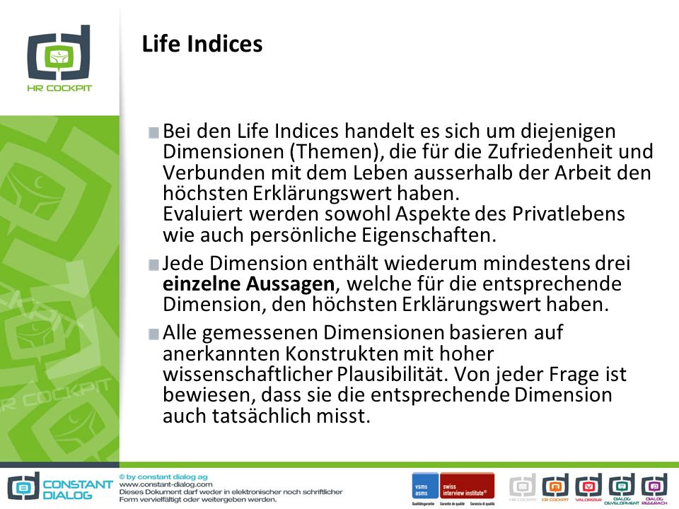 Life Indices
