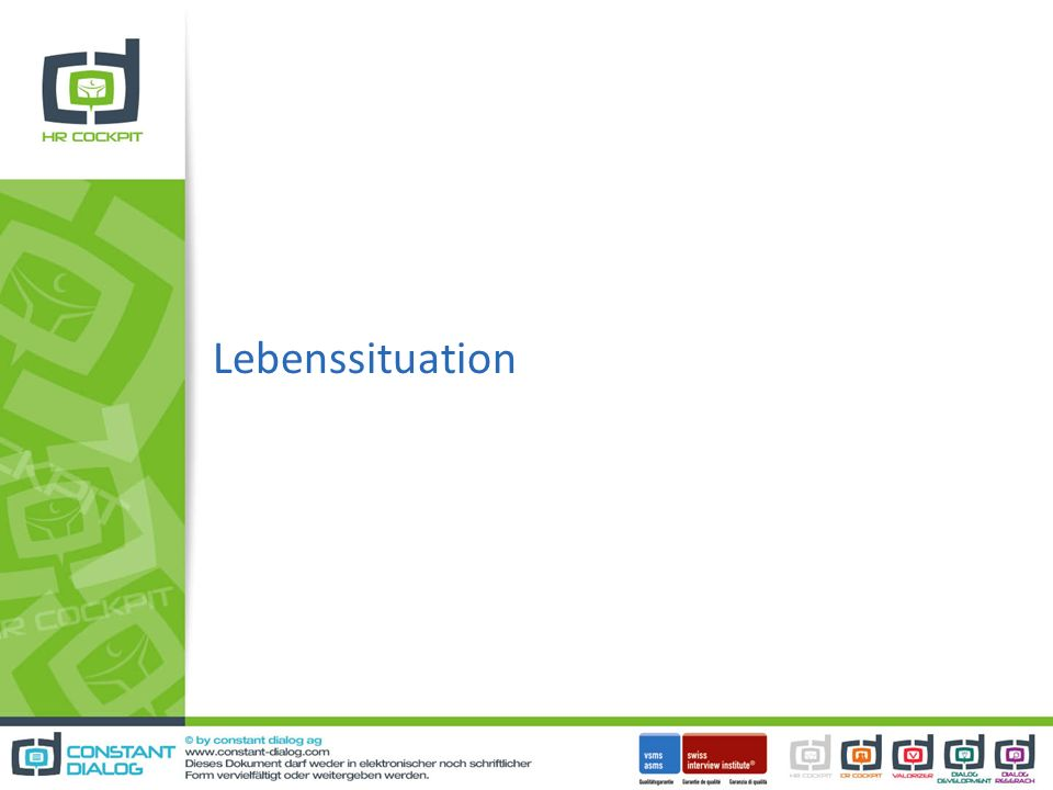Lebenssituation