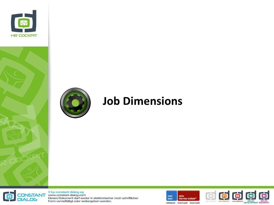 Job Dimensions 20