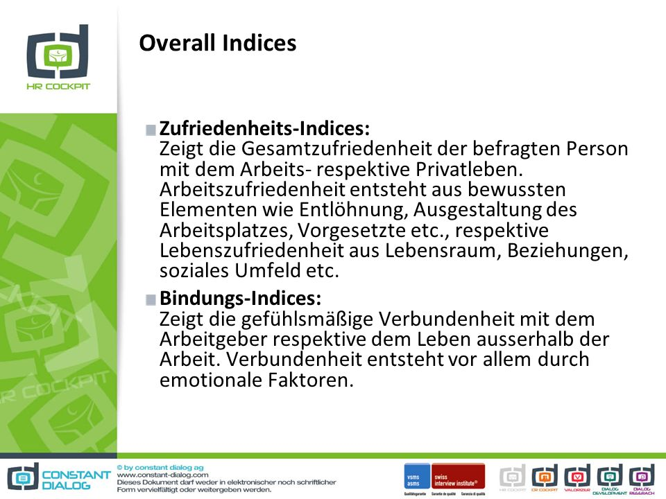Overall Indices