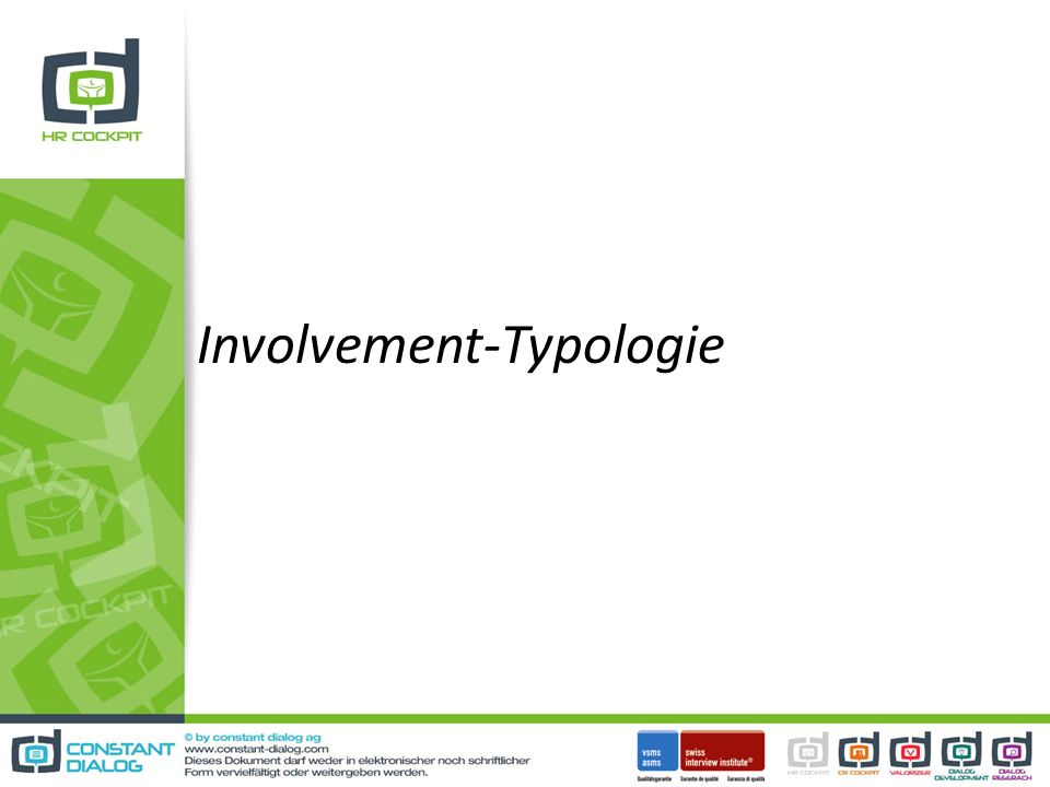 Involvement-Typologie