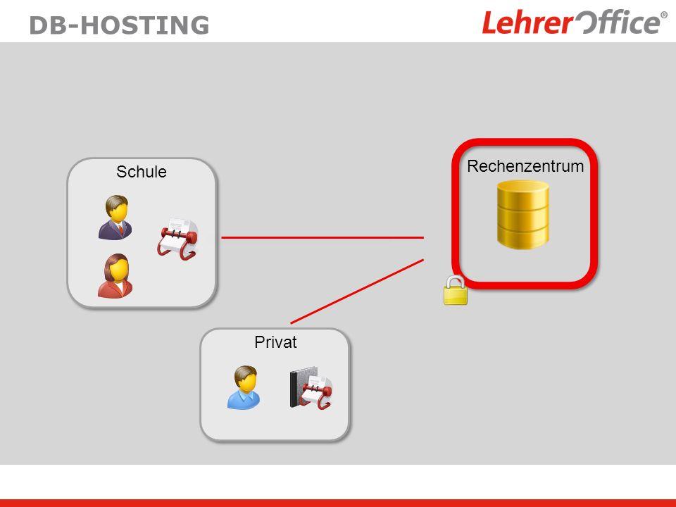 DB-Hosting Rechenzentrum Schule Privat
