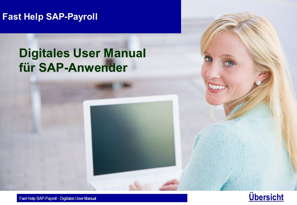 Digitales User Manual für SAP-Anwender