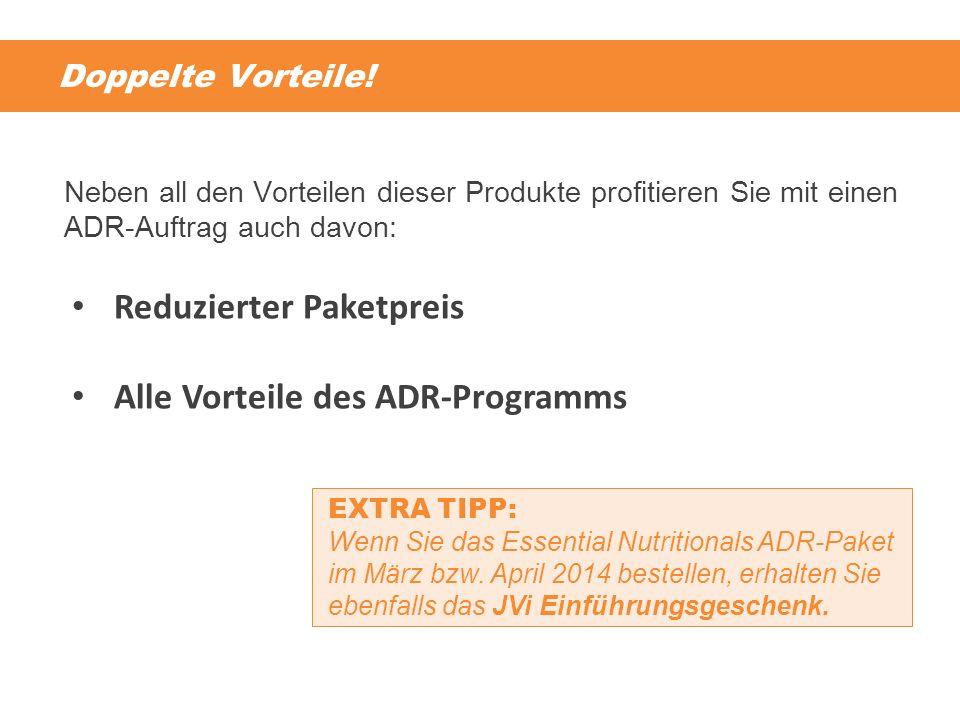 Reduzierter Paketpreis Alle Vorteile des ADR-Programms