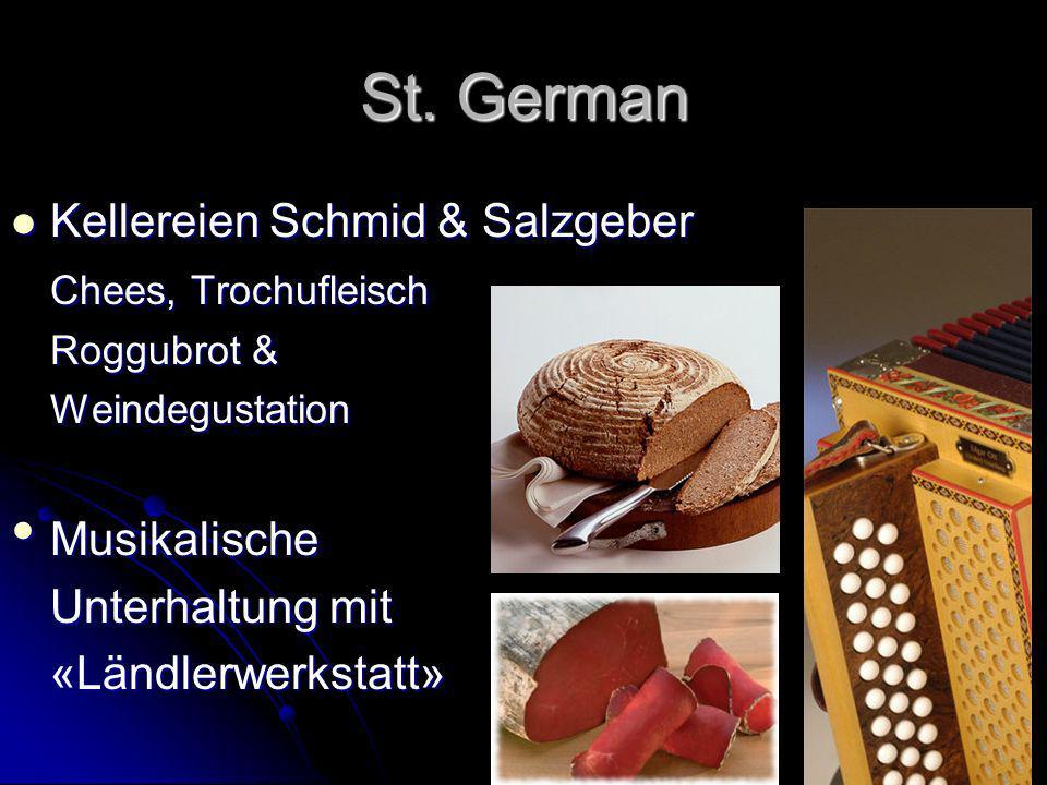 St. German Kellereien Schmid & Salzgeber Chees, Trochufleisch