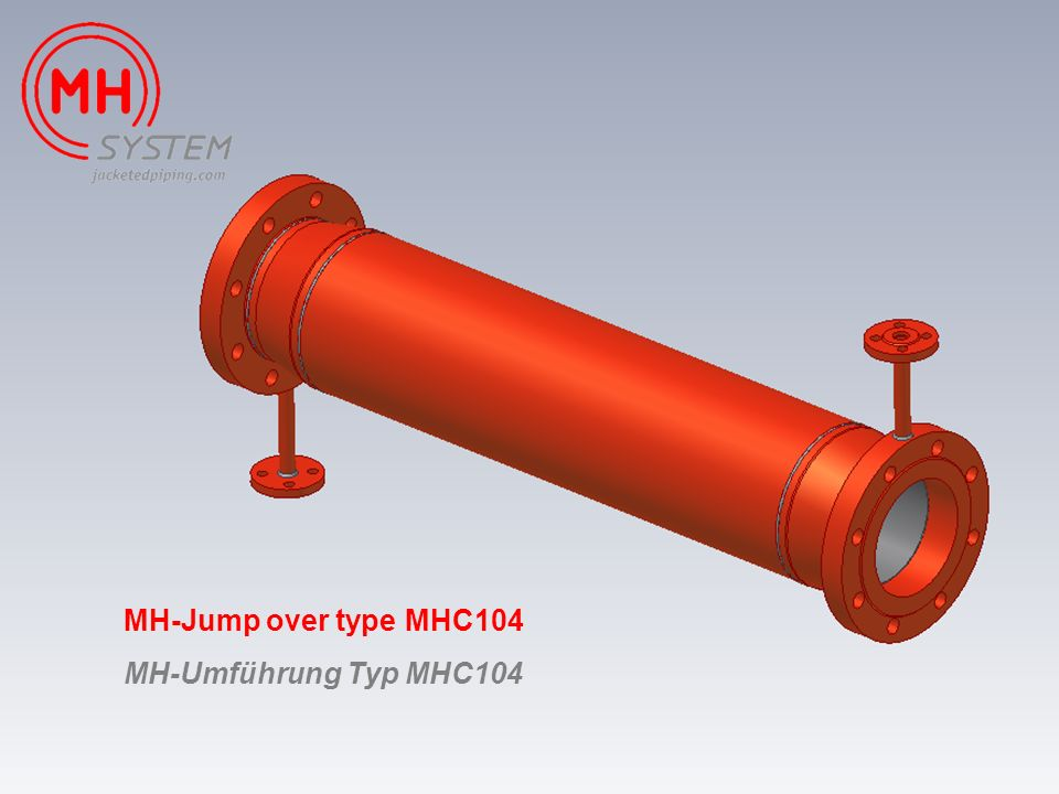 MH-Jump over type MHC104 MH-Umführung Typ MHC104
