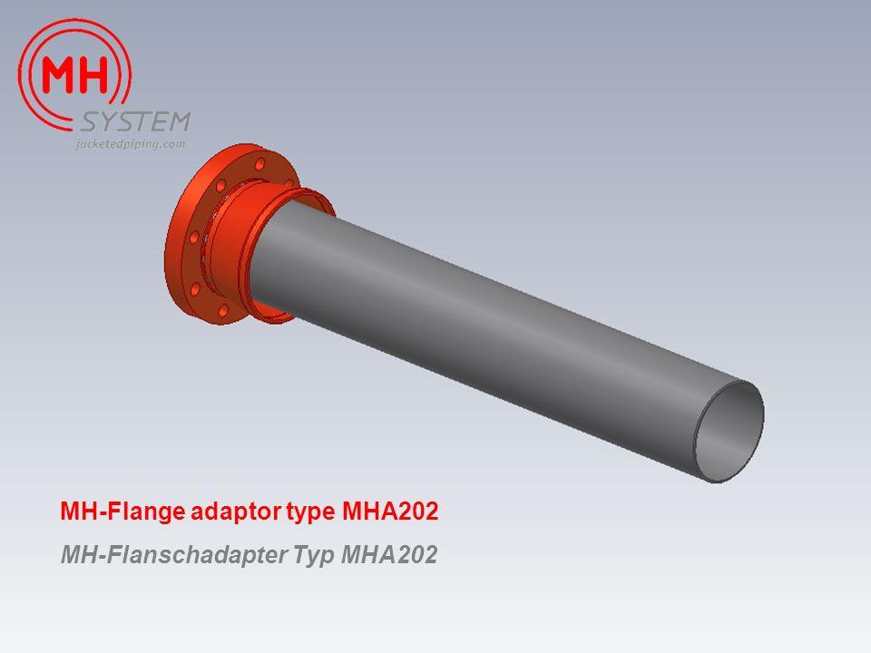 MH-Flange adaptor type MHA202