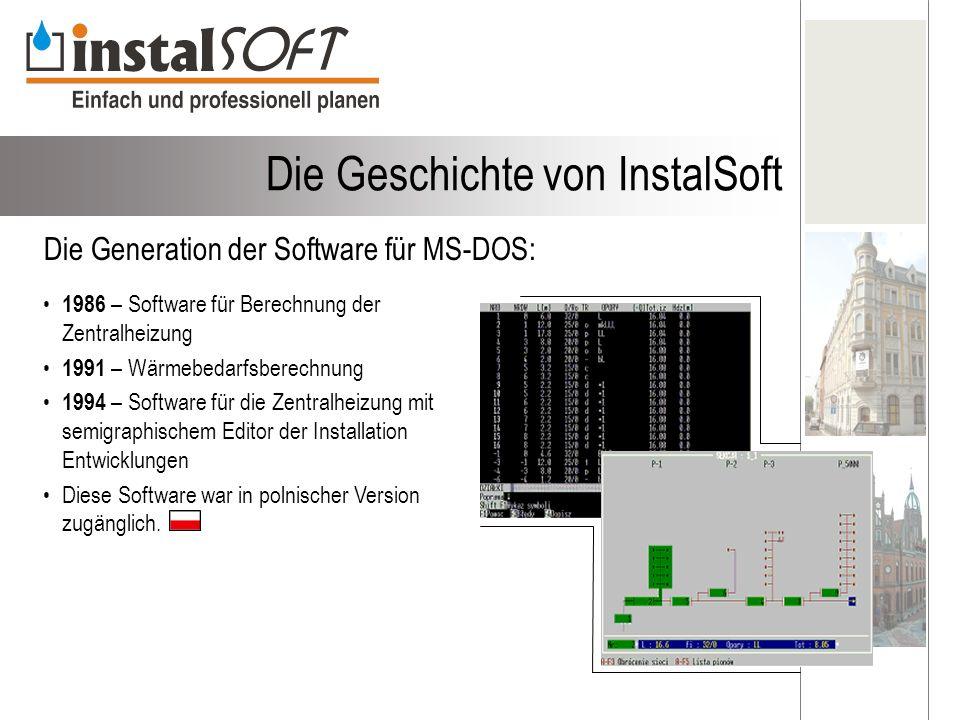 Die Geschichte von InstalSoft