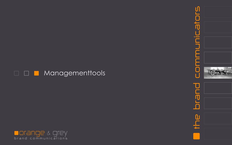 Managementtools
