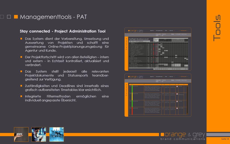 Tools Managementtools - PAT