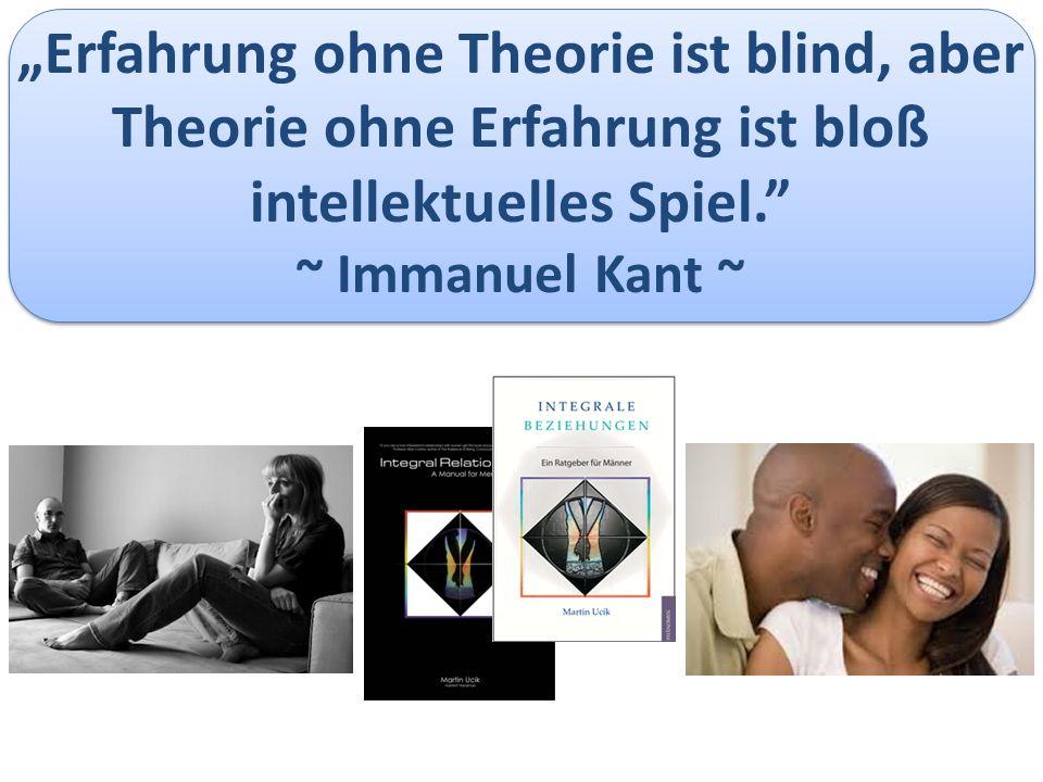 """""""Erfahrung ohne Theorie ist blind, aber Theorie ohne Erfahrung ist bloß intellektuelles Spiel. ~ Immanuel Kant ~"""
