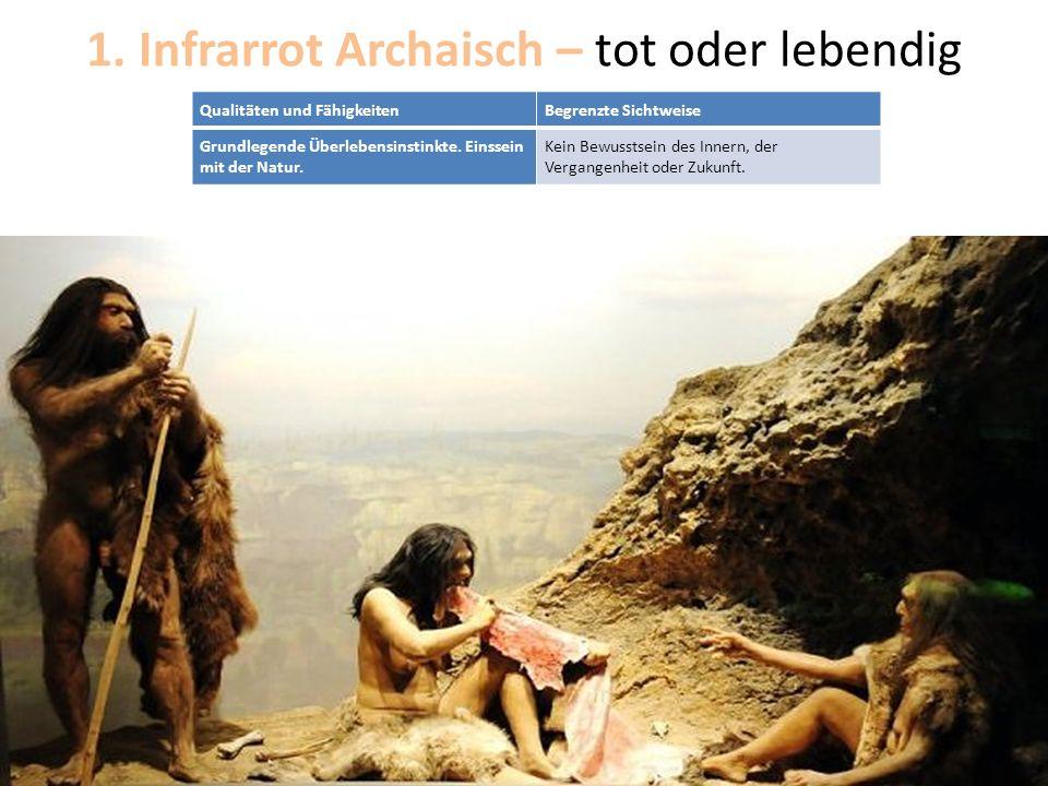 1. Infrarrot Archaisch – tot oder lebendig