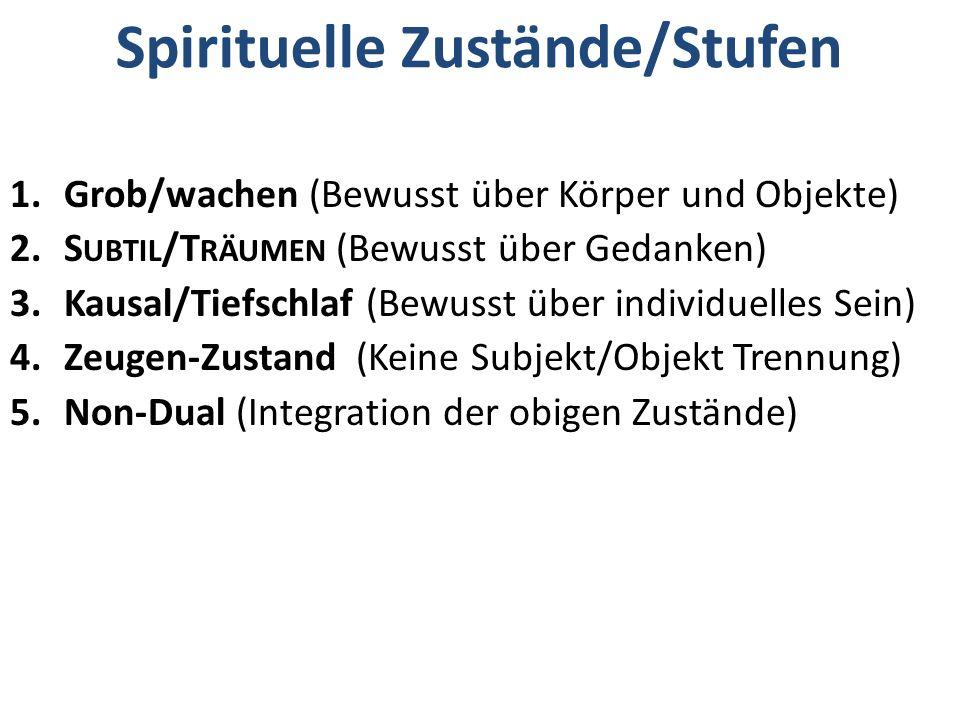 Spirituelle Zustände/Stufen