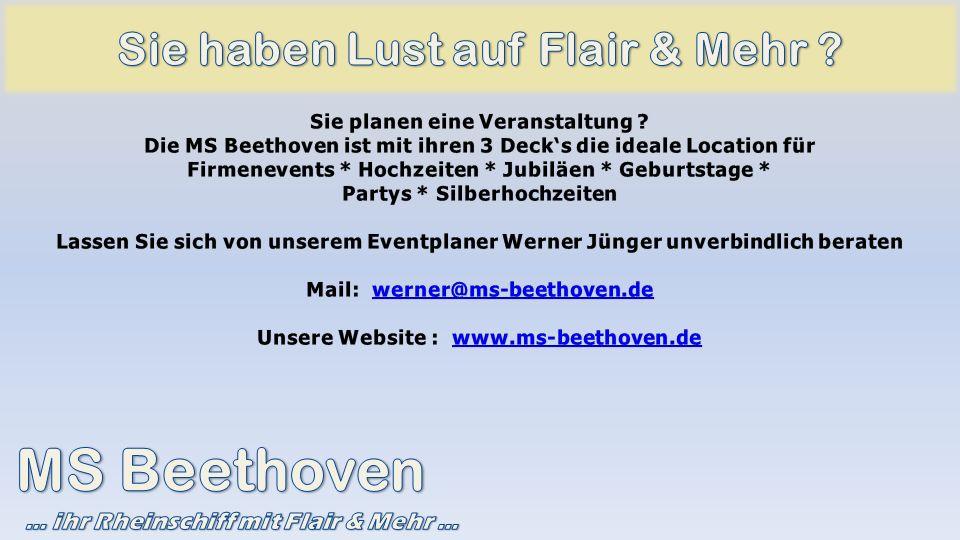 MS Beethoven Sie haben Lust auf Flair & Mehr