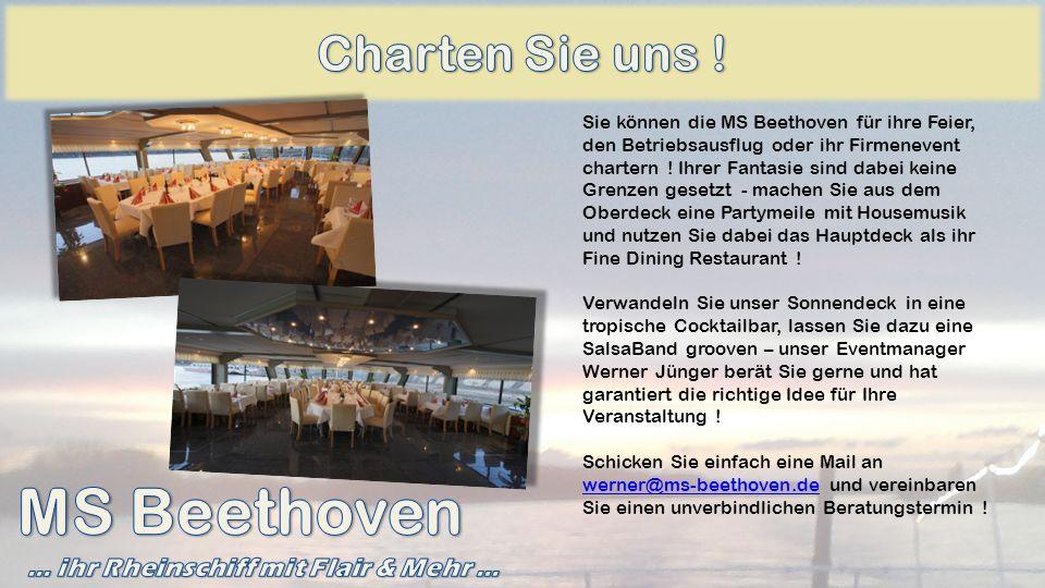 … ihr Rheinschiff mit Flair & Mehr …