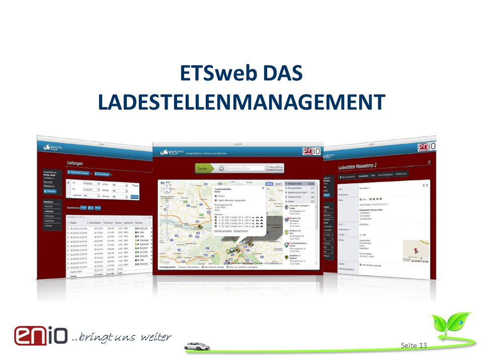 ETSweb DAS LADESTELLENMANAGEMENT