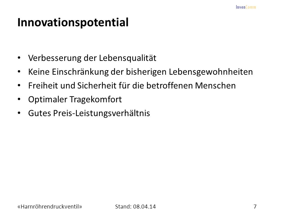 Innovationspotential