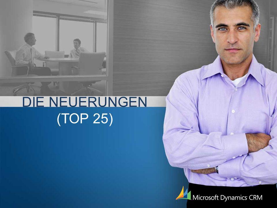 DIE NEUERUNGEN (TOP 25)