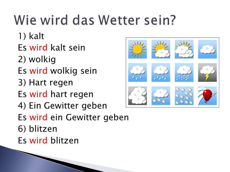Wie wird das Wetter sein