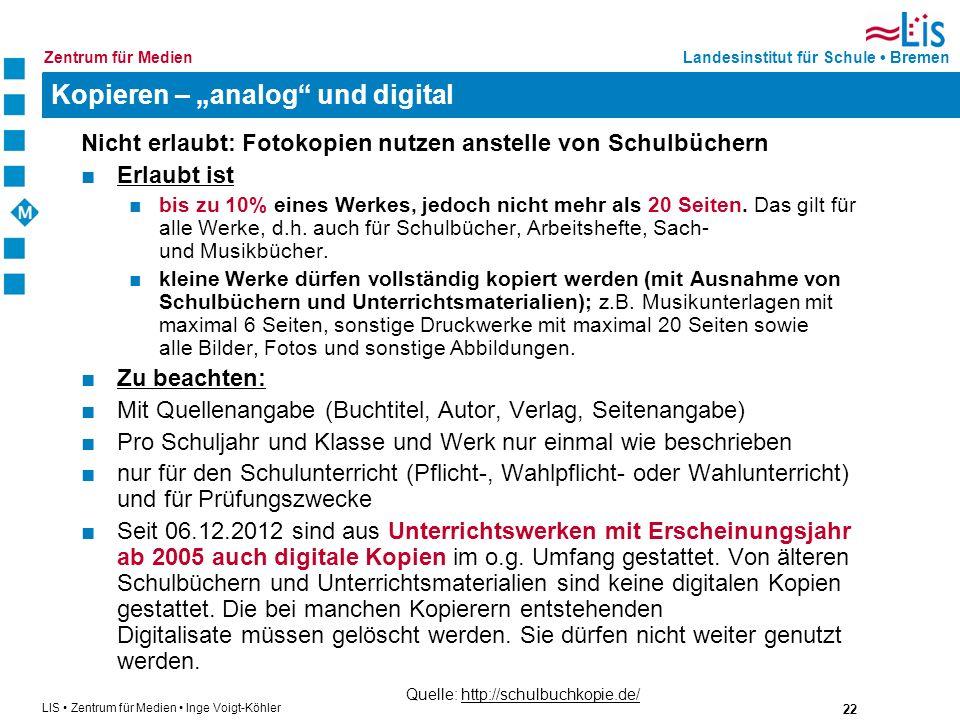 """Kopieren – """"analog und digital"""