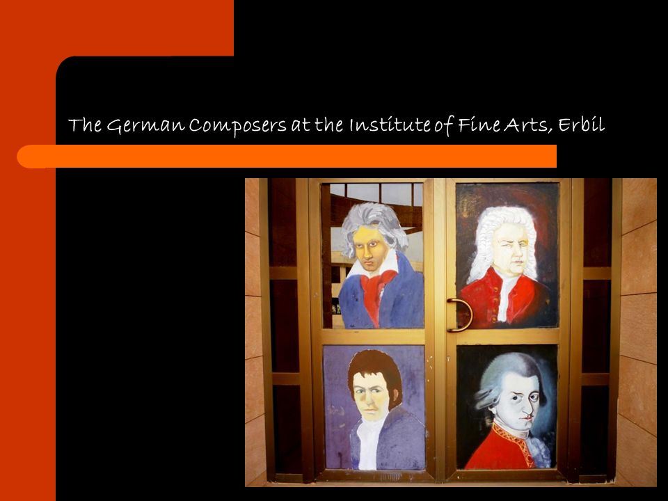 The German Composers at the Institute of Fine Arts, Erbil
