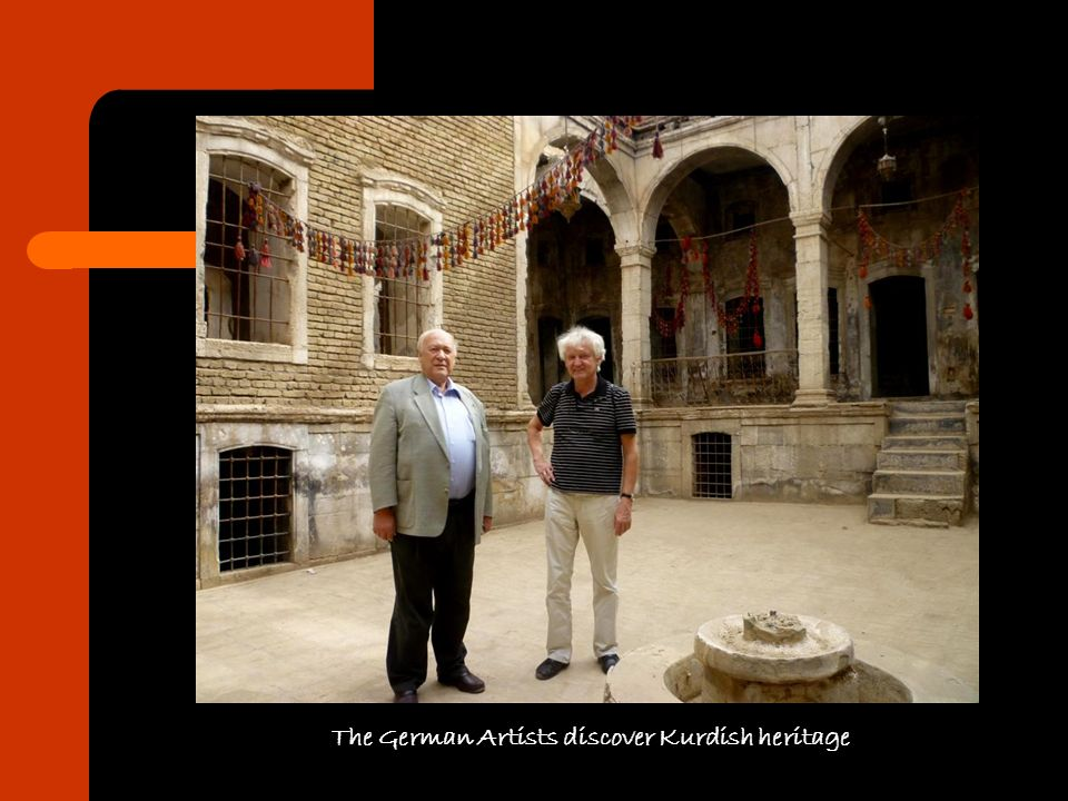 The German Artists discover Kurdish heritage