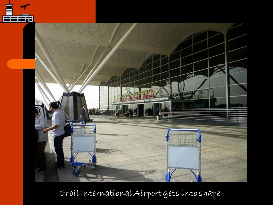 Erbil International Airport gets into shape