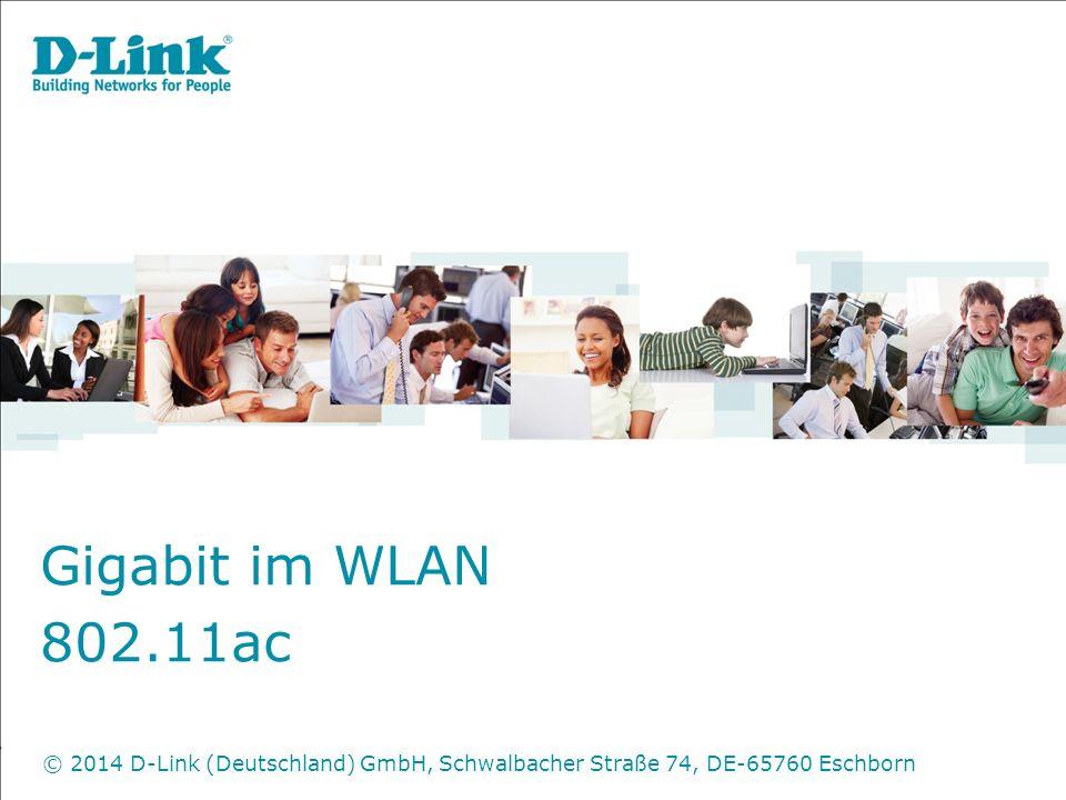 Gigabit im WLAN 802.11ac.