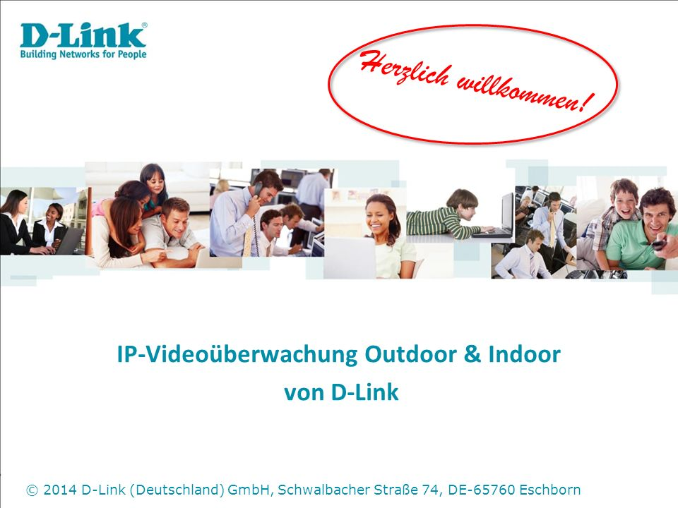 IP-Videoüberwachung Outdoor & Indoor