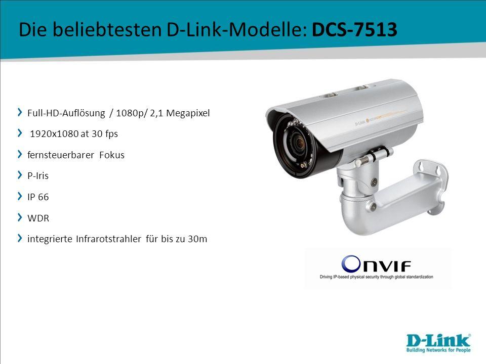 Die beliebtesten D-Link-Modelle: DCS-7513
