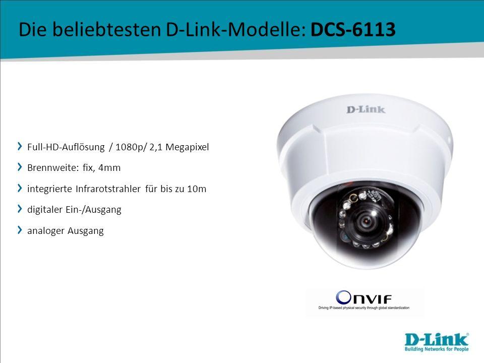 Die beliebtesten D-Link-Modelle: DCS-6113