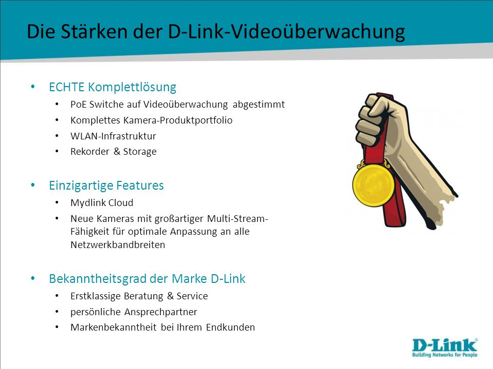 Die Stärken der D-Link-Videoüberwachung