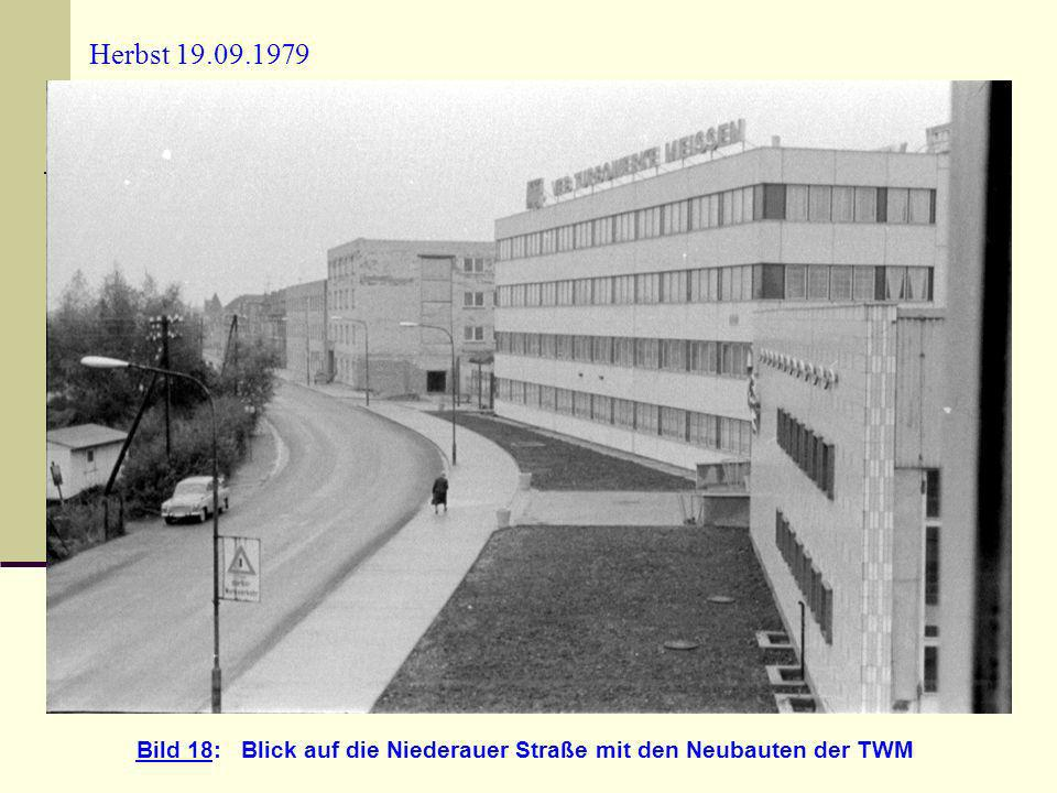 Bild 18: Blick auf die Niederauer Straße mit den Neubauten der TWM