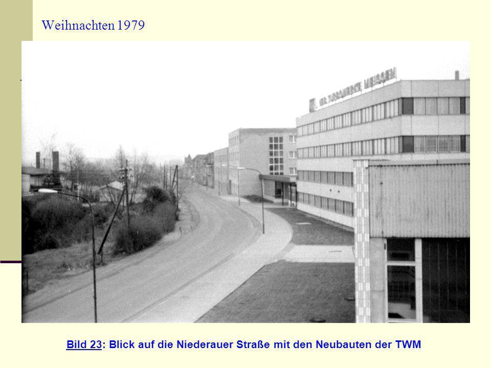 Bild 23: Blick auf die Niederauer Straße mit den Neubauten der TWM