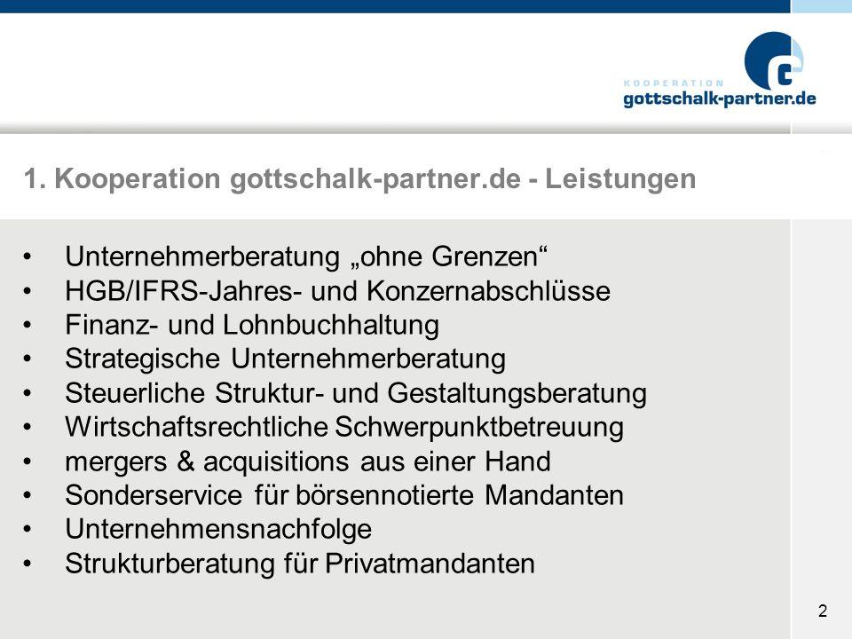 1. Kooperation gottschalk-partner.de - Leistungen