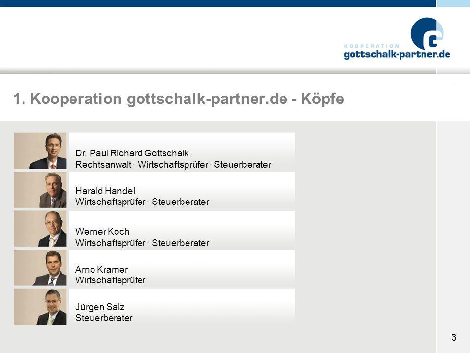 1. Kooperation gottschalk-partner.de - Köpfe