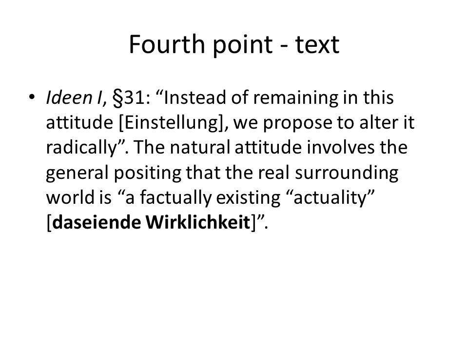 Fourth point - text