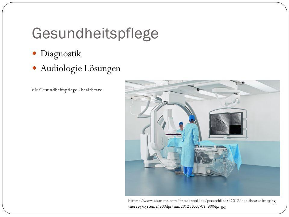 Gesundheitspflege Diagnostik Audiologie Lösungen