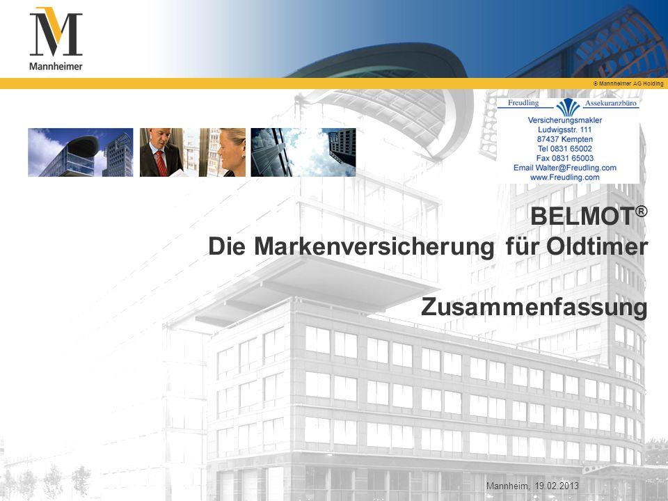 BELMOT® Die Markenversicherung für Oldtimer Zusammenfassung