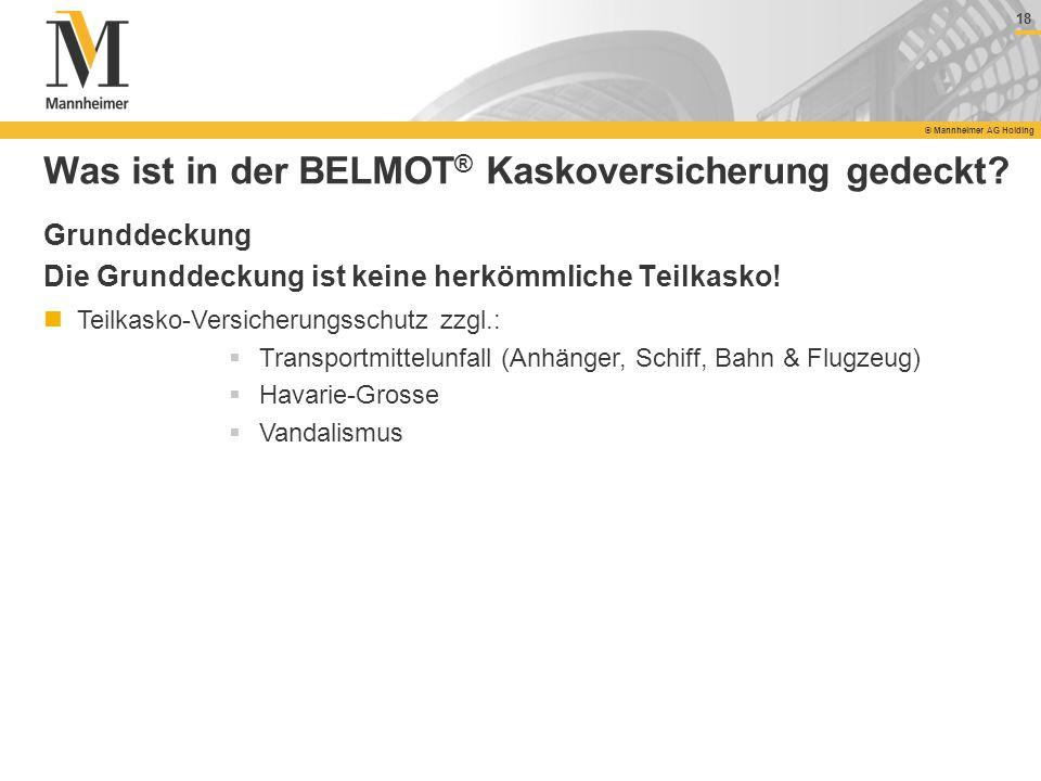 Was ist in der BELMOT® Kaskoversicherung gedeckt