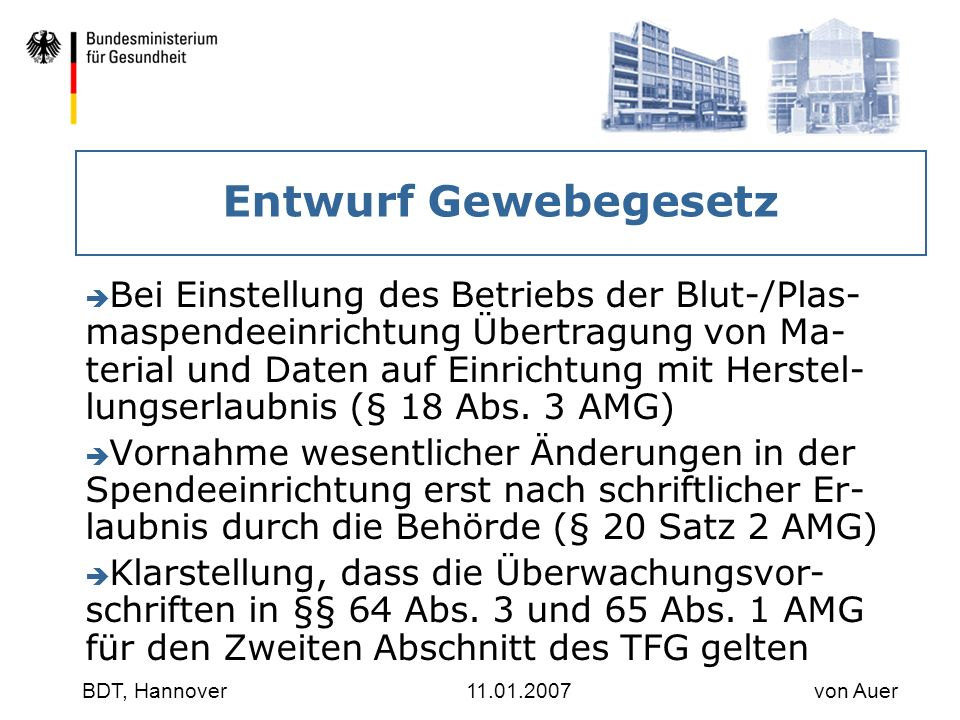 30.03.2017 Entwurf Gewebegesetz.
