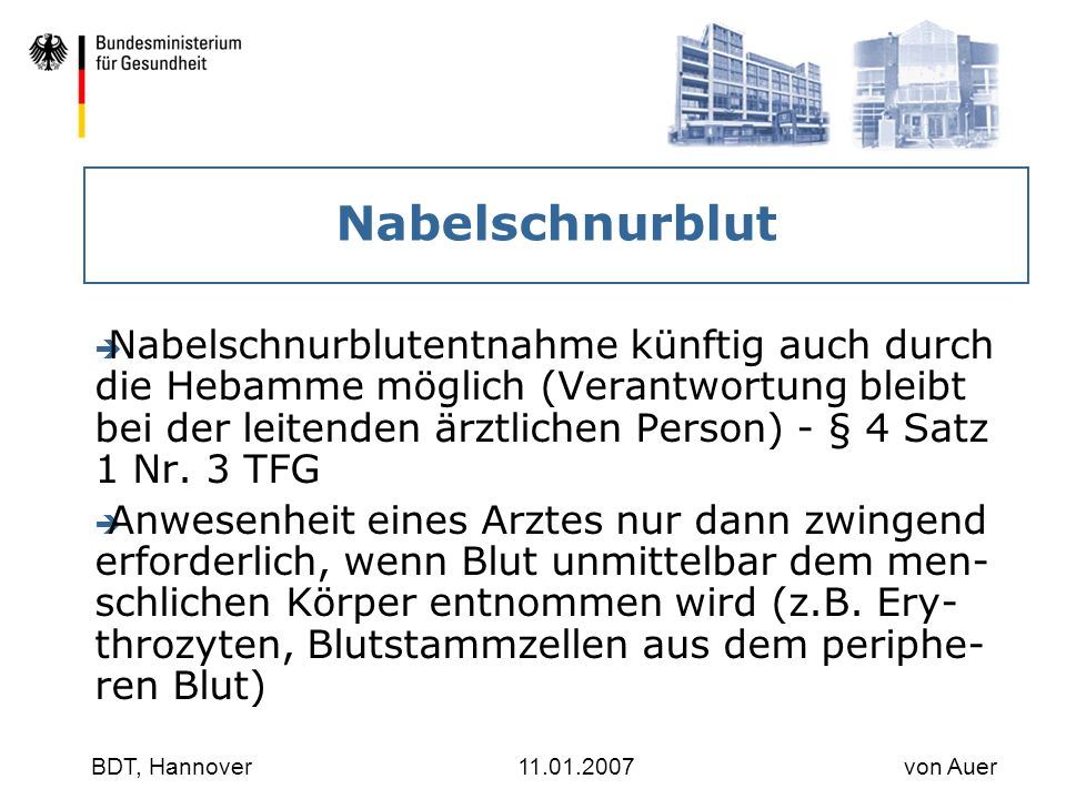 30.03.2017 Nabelschnurblut.
