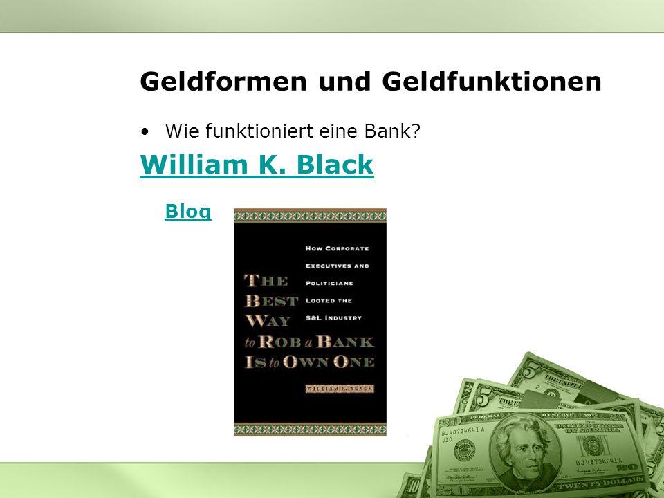 Geldformen und Geldfunktionen